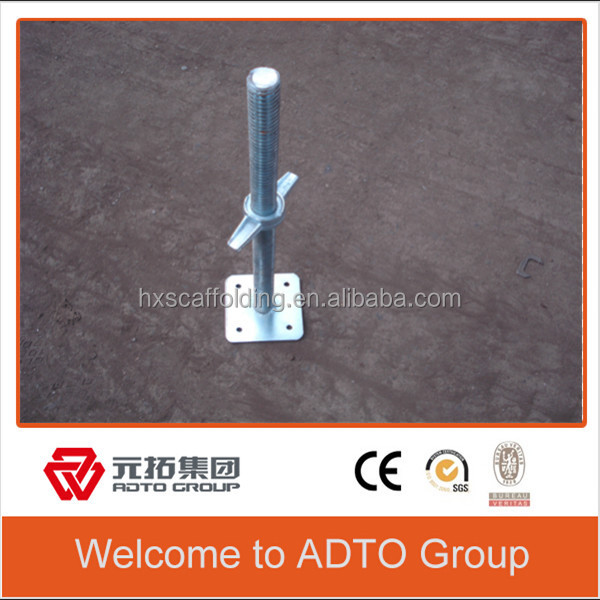 galvanized layher system ringlock scaffolding construction adjustable jack steel ring lock