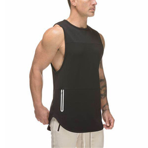 Wholesale fitness clothing latest shirt design custom gym tank top men