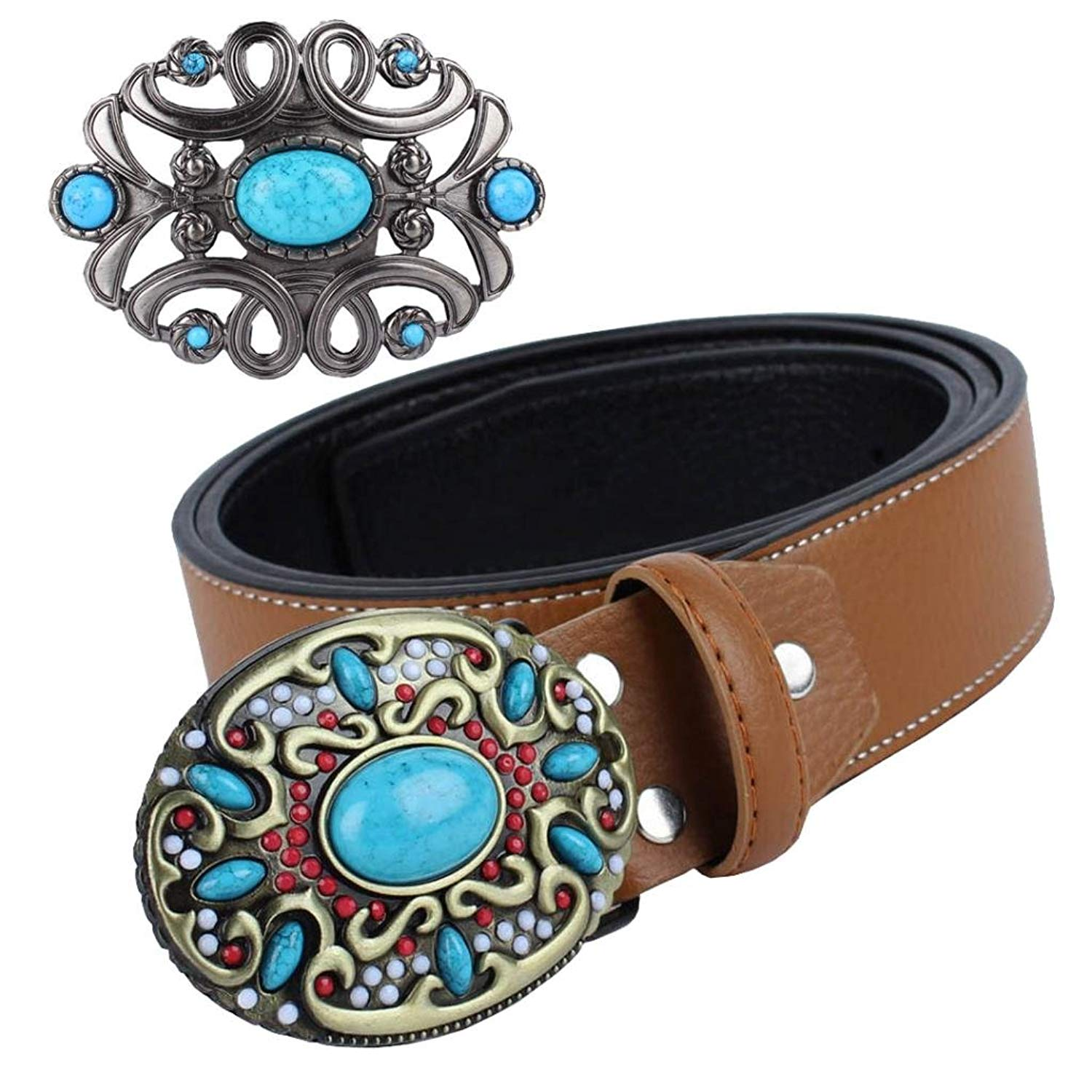 Fashion Mens Good Plating Metal Gold Color Belt Buckle Men Woman Floral Hebillas With 4cm Belts Oval Luxury Jeans Accessories Back To Search Resultshome & Garden Buckles & Hooks
