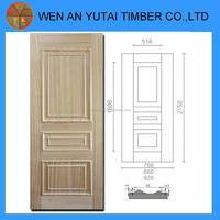 cherry natural hdf door skin wooden veneer door skin moulded door skin