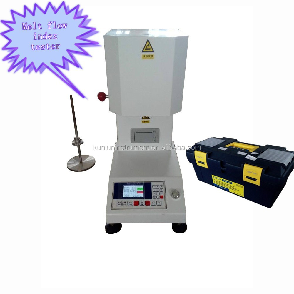 2014 Hot Selling Products Plastic Melt Flow Index of Testing Melting Rate