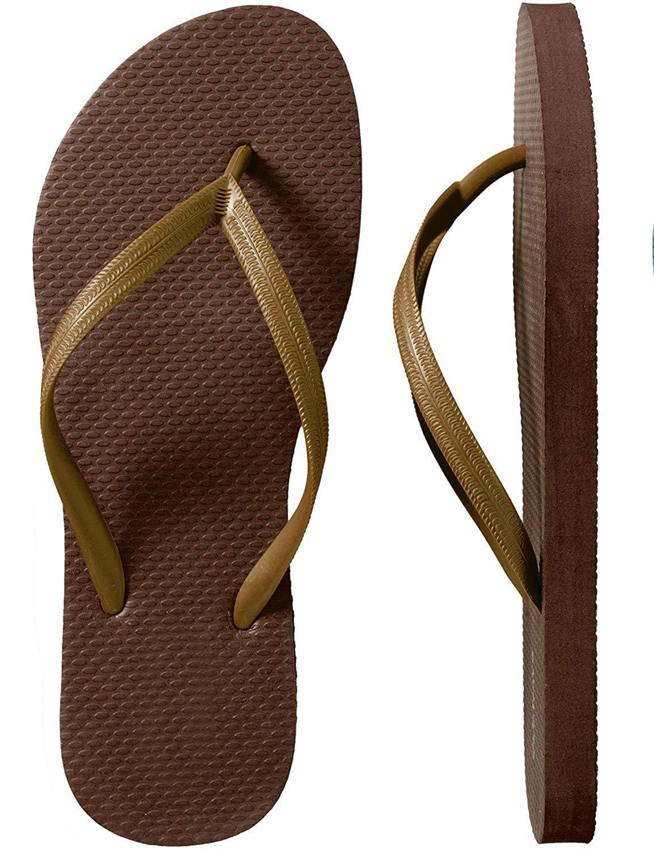 62ceaa9613239b Get Quotations · SLR Brands Men s Flip Flops Rubber Thong Flip Flop Shower  Sandal For Men