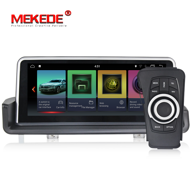 MEKEDE ID7 px6 android 9.0 6 core android car dvd player For BMW E90/E91/E92/E93 2005- 2012 without screen 4+32GB wifi gps