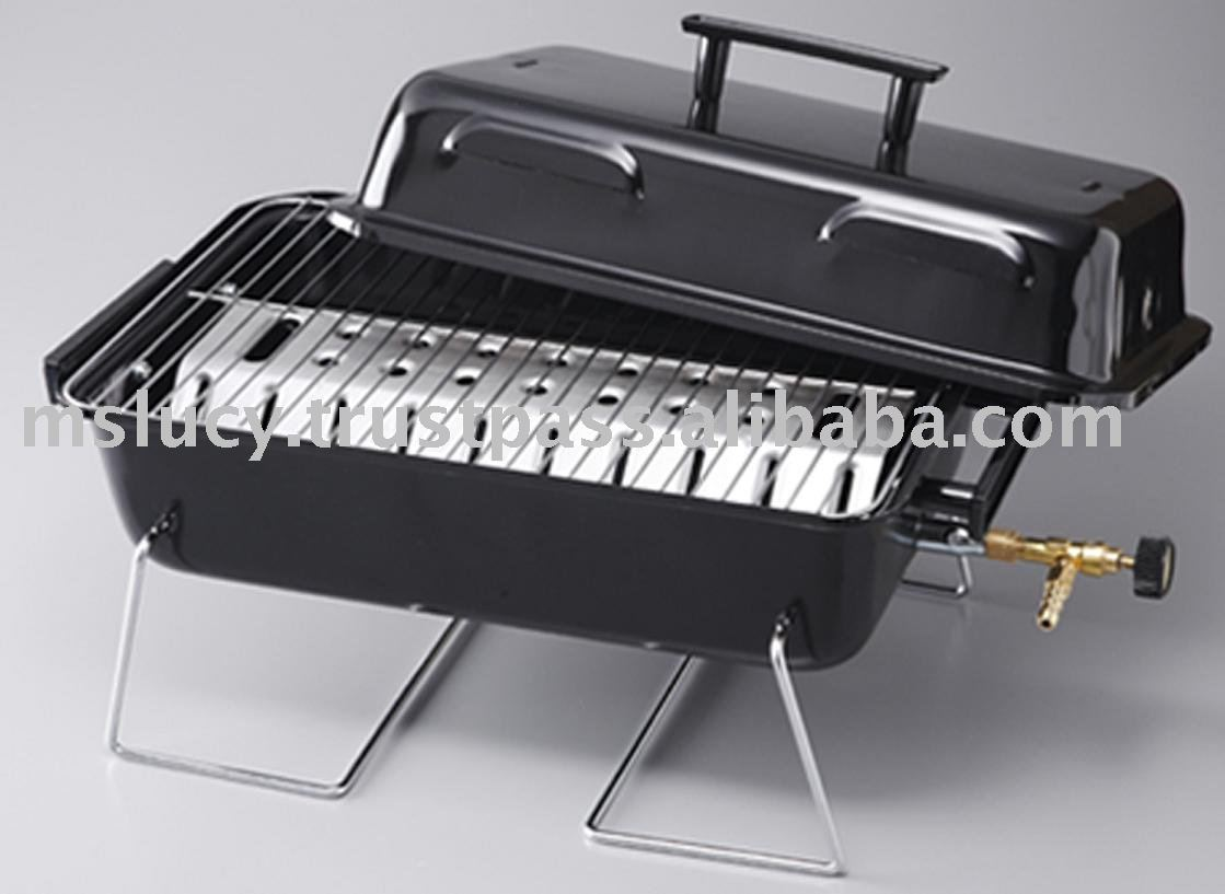 Portable Gas Bbq Grill View
