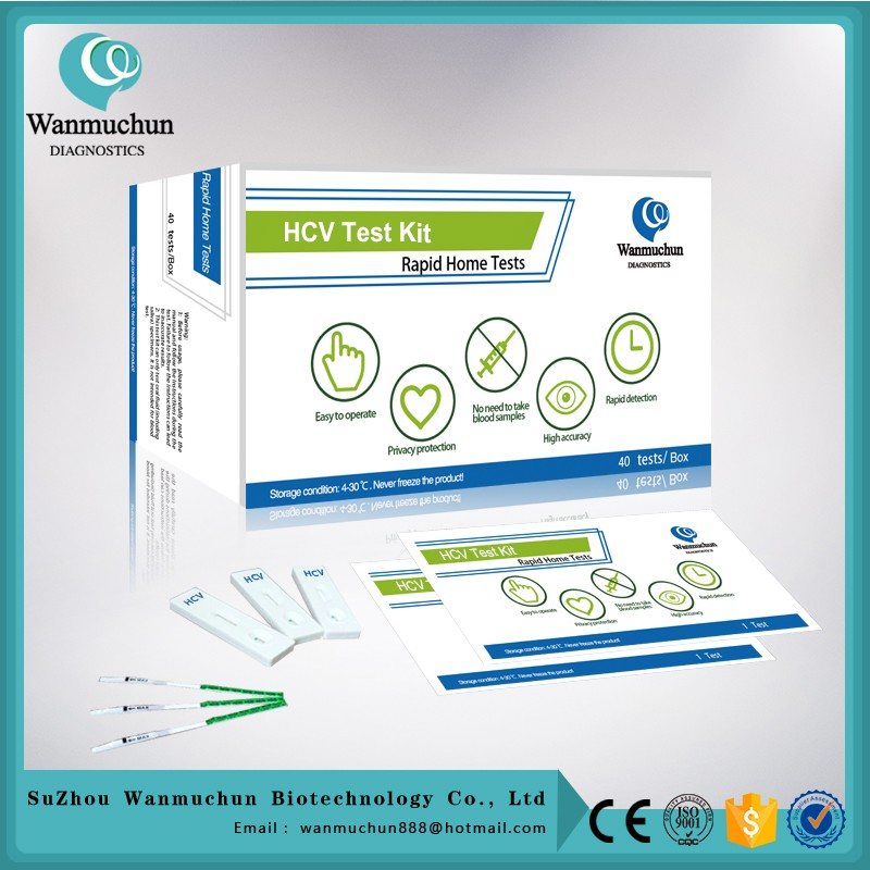 Premium Brand hepatitis c antibody hcv rapid test card FDA cleared CE mark