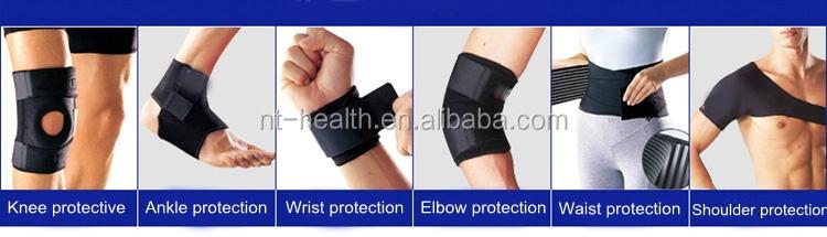 Atacado à prova d' água esportes de corrida e tênis de basquete de fitness com tira no tornozelo ankle brace suporte
