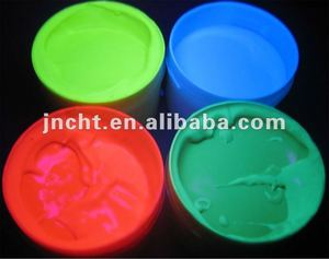 UV invisible fluorescent security offset printing ink