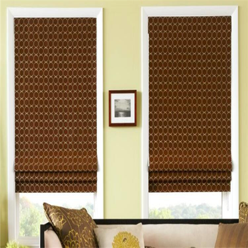 Istanbul style roman blind fabric roman shade mechanism pattern roman blind