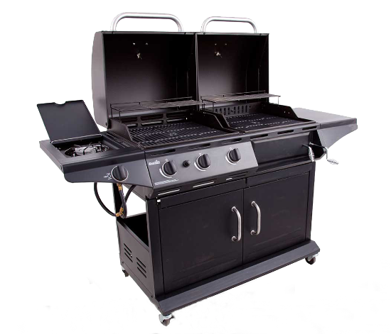 fonte charbon de gaz 2 in 1combo combinaison hybird multifonction barbecue barbecue grills avec. Black Bedroom Furniture Sets. Home Design Ideas