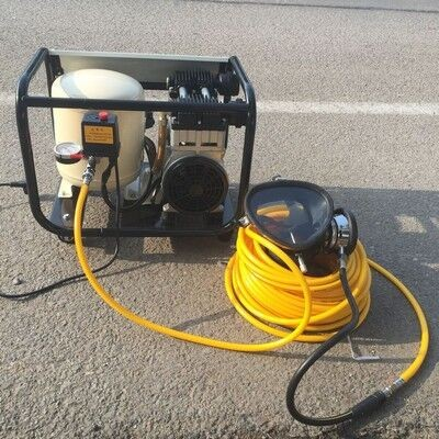 Oil Free Electric Air Compressor For Diving Equipment