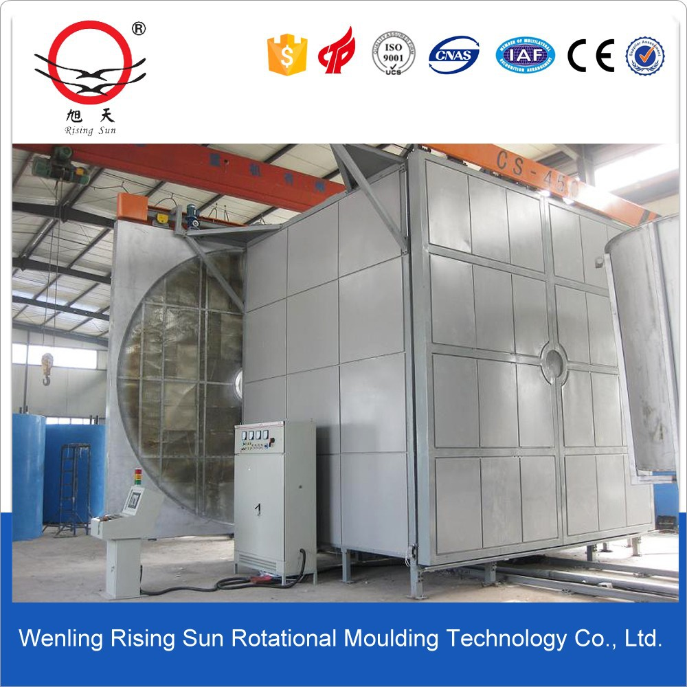 rotational molding one station rotomolding machine rotomoulding machine for make ice box