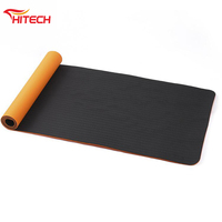 Non Slip Yoga Mat with Carrying Strap - Eco Friendly TPE Workout Exercise Mat,Anti-tear Hot Pilates Fitness Yoga Mat