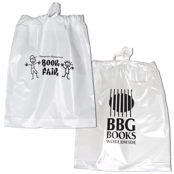 Zipper Bags Poly Cloth Package of 2 Bags (Black)