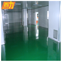 Solvent Self Leveling Epoxy Rubber Floor Paint