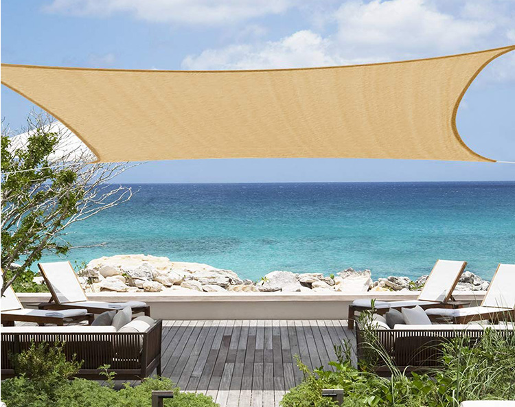 Best selling high quality shade sails for outdoor UV shade cloth