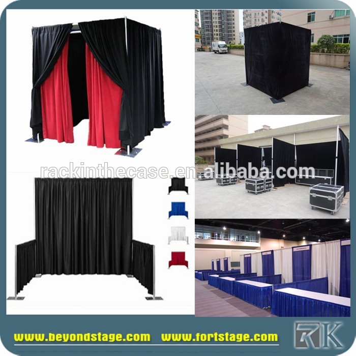 Portable Curtain Room Dividers Exhibition Booth   Buy Pipe And Drape,Pipe  And Drape For Exhibition Booth,High Quality Curtains And Drapes Product On  ...