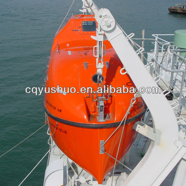 Marine Ship Frp Totally Enclosed Rescue Boat