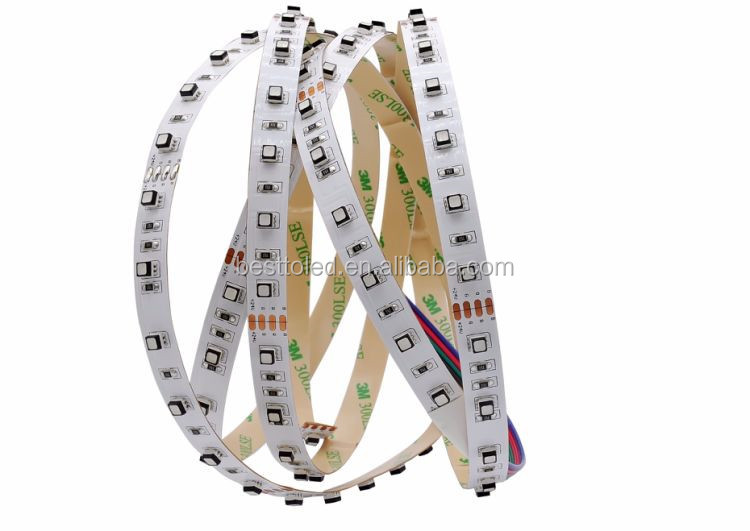 Shenzhen factory 120W superbright color changing RGB 3535 led strip lights for backlight