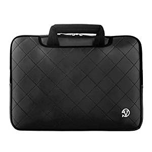 "VanGoddy 13.3"" Laptop /Tablet Carrying Sleeve Bag Briefcase for ASUS VivoTab 11.6""/ Transformer Book Flip TP200SA/ Zenbook UX305FA/ Q302/ Taichi 31 13.3""/ K200MA 11.6"" (Black)"