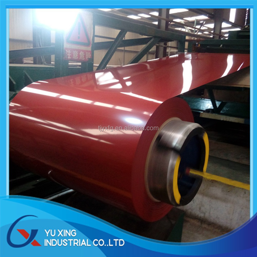 Sea Blue / Brown Red / White Grey Pre painted Galvanized Iron/Steel Coil ( PPGI ) Colour Coated Iron