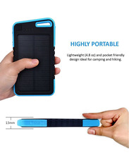 4000mah Weatherproof Dual USB External Power Bank Sports Outdoors, 2 USB, LED Flashlight,