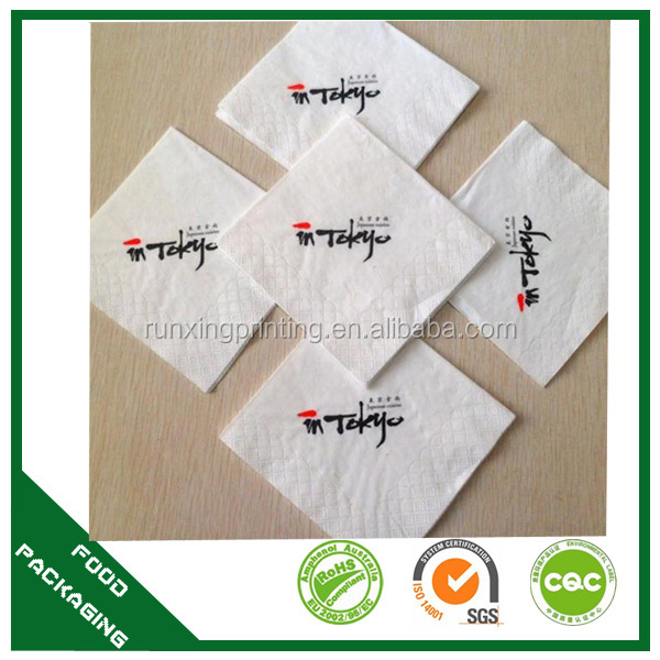 customized paper napkin decorative for printing