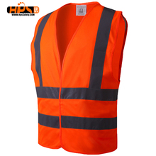 EN471 standard reflecting yellow warning vest