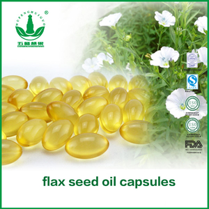 Flax Seed Oil Soft Capsules