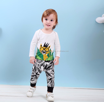 2017 Boutique Stylish Boys Casual Outfits Wholesale Winter Cotton