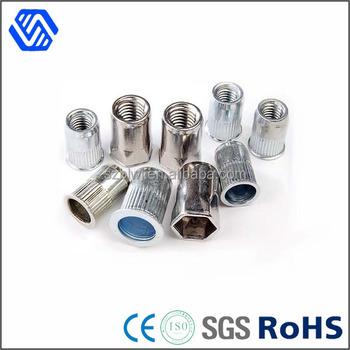 aluminium 5052 5056 platte kop klinknagel pop moer met