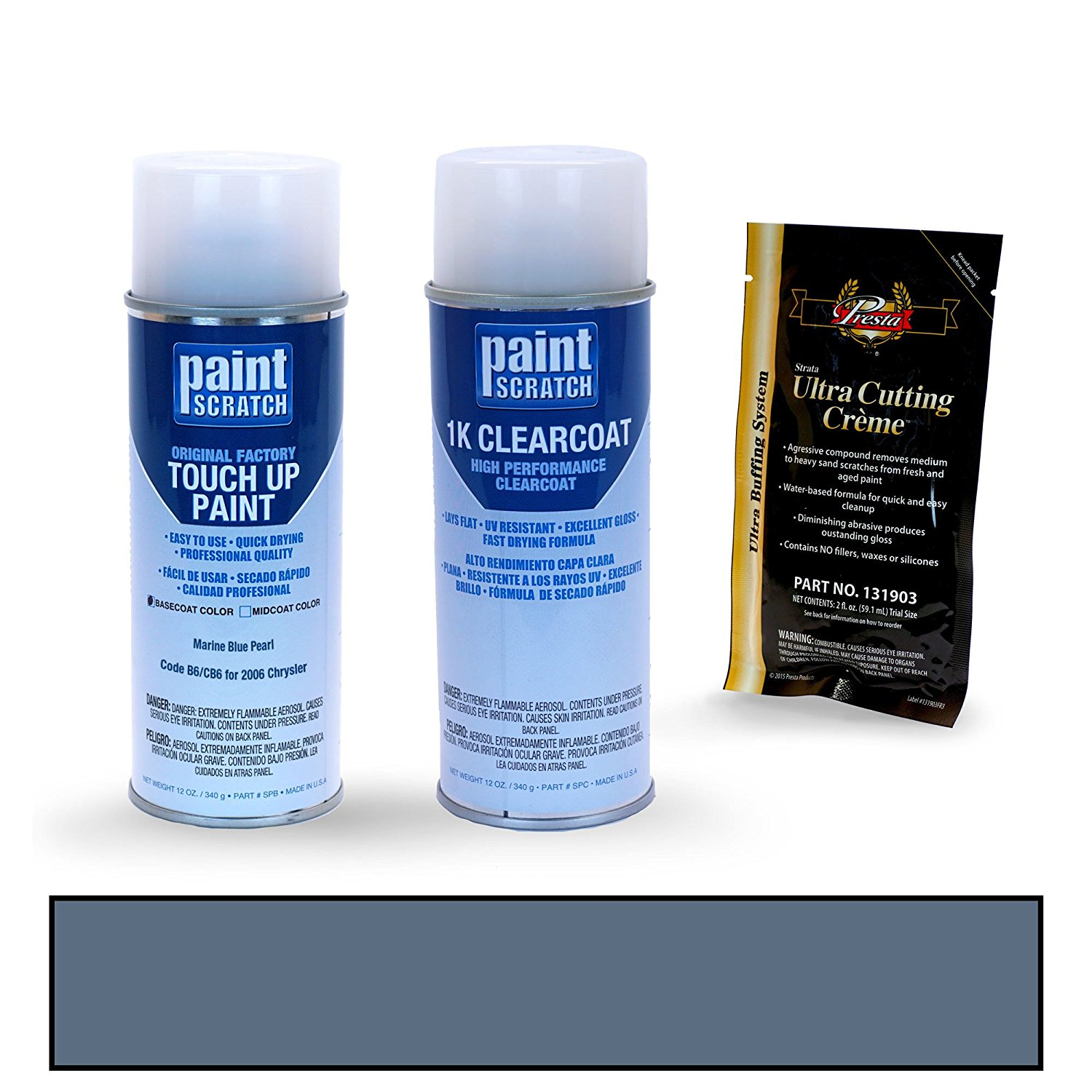 Cheap dupont marine paint color chart find dupont marine paint get quotations 2006 chrysler pt cruiser marine blue pearl b6cb6 touch up paint spray can kit nvjuhfo Choice Image