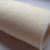 Acrylic needle punched nonwoven felt with PTFE menbrane for dust collector