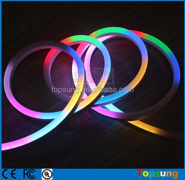 Digital RGB 12v neon light flat 230v AC