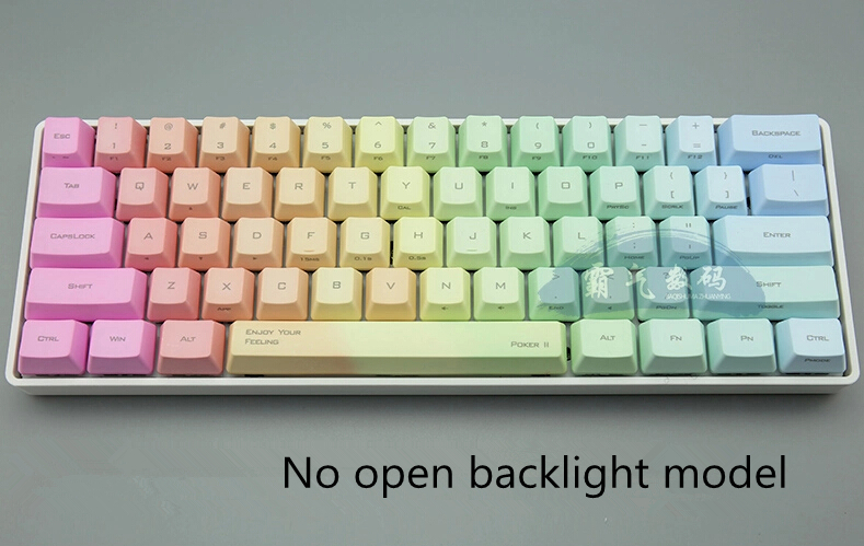 8c1c985397e PBT keycap OEM height poker 2 Mechanical keyboard cherry