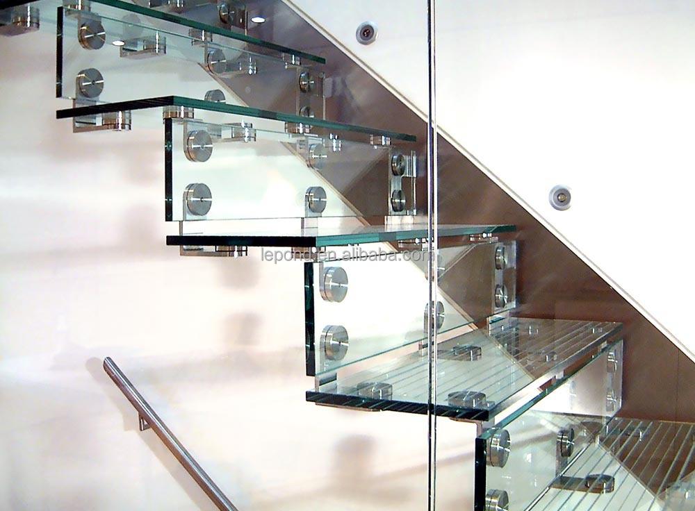 n china al por mayor de cristal barato precio escaleras seguridad encargo voladizo escalera de