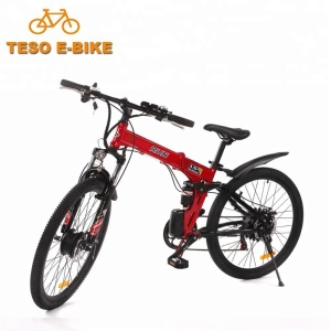 cheap 26 inch aluminium alloy frame foldable/unfoldable mountain ebike light 250w bicycle electric