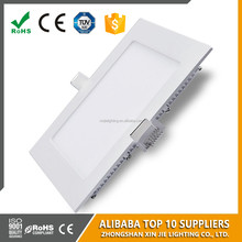 Ultra thin interior 18W square down light led flat panel light 220*220mm 85-265V