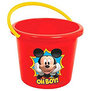 44365aea56d Get Quotations · Amscan Disney Mickey Mouse Party Jumbo Favor Bucket
