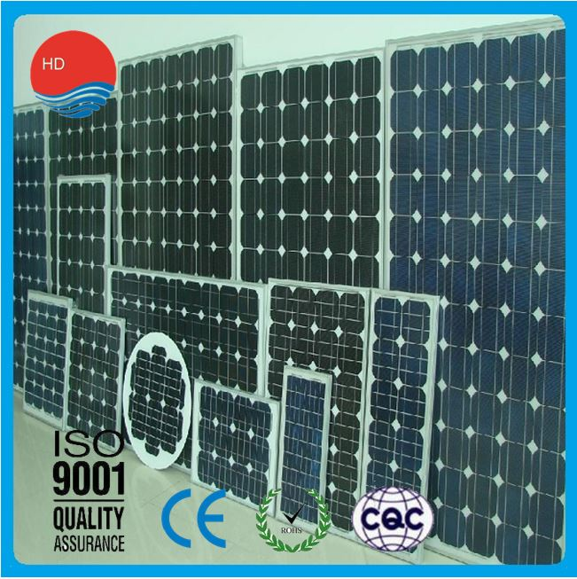 Affording Samples CCC Approved Monocrystalline 100 Watt Solar Panel
