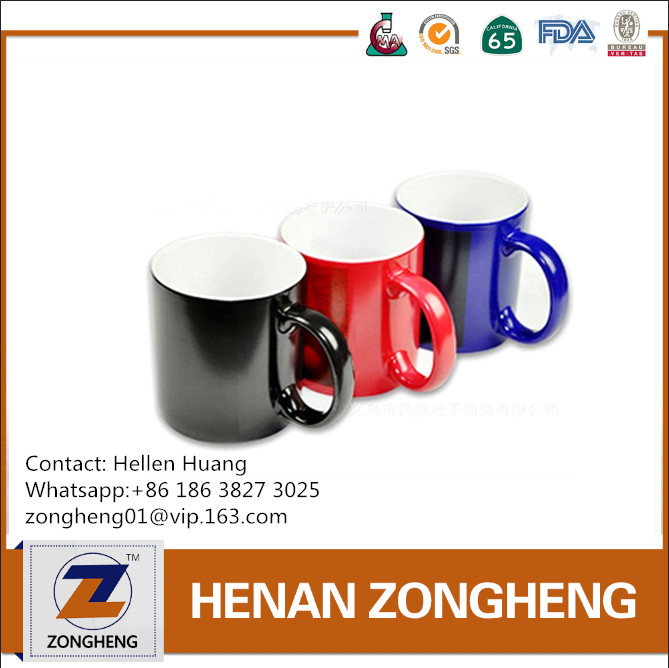 Popular Red/Black/Blue Color Changing Magic Mugs