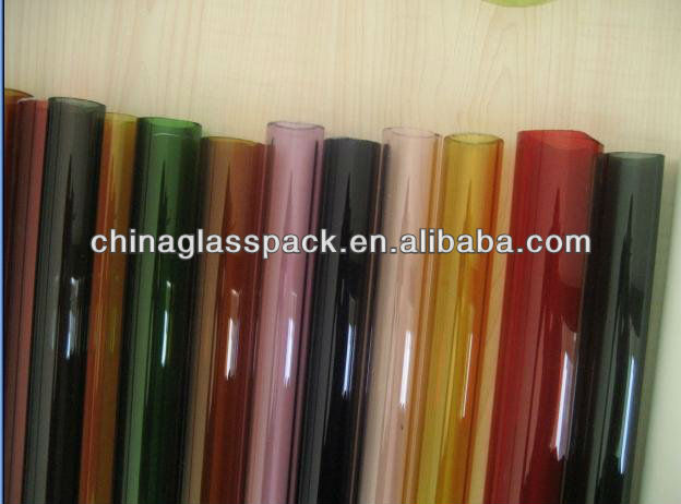 Colored glass tubing