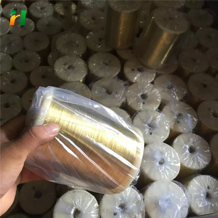 High quality H65 brass wire manufacturer/CuZn37 brass wire soft wire/99.99% copper wire