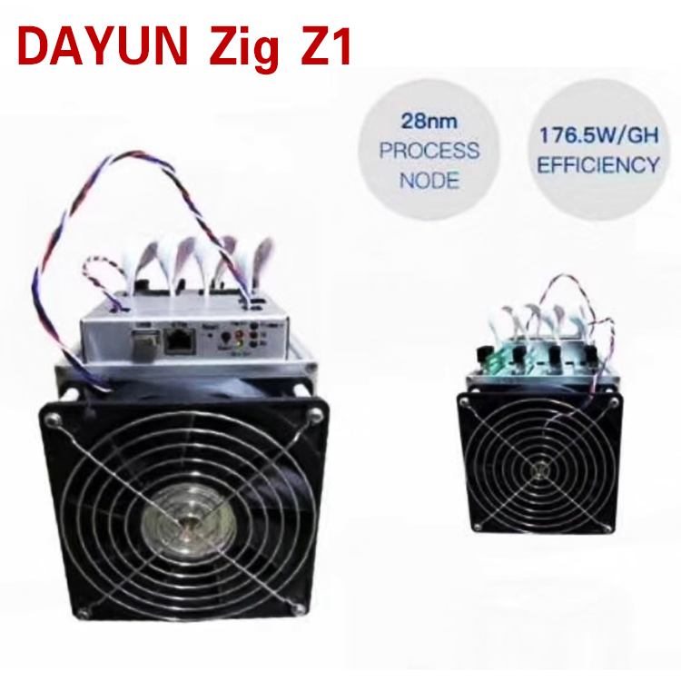 New arrival powerful DAYUN Zig Z1 Lyra2REv2 6 8GH/s ASIC miner with power  supply in shenzhen, View DAYUN Z1 miner, DAYUN Zig Z1 miner Product Details