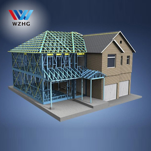200 kg/m2 design load for prefab 3 storey house with sound acoustic wool