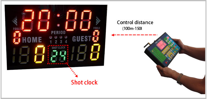 Dl8dp05vv0c0 Portable Led Electronic Digital Basketball