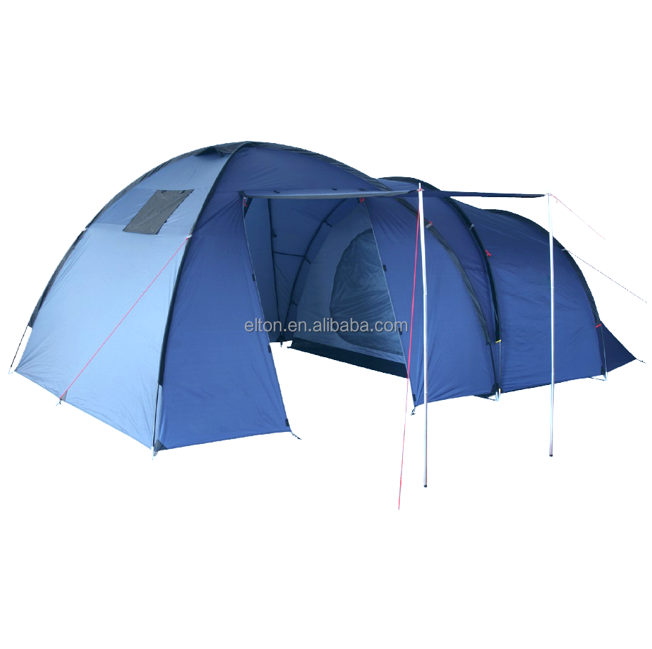 2017 factory direct dome tent windproof portable carrying bag roof top double stretch waterproof tent trailer