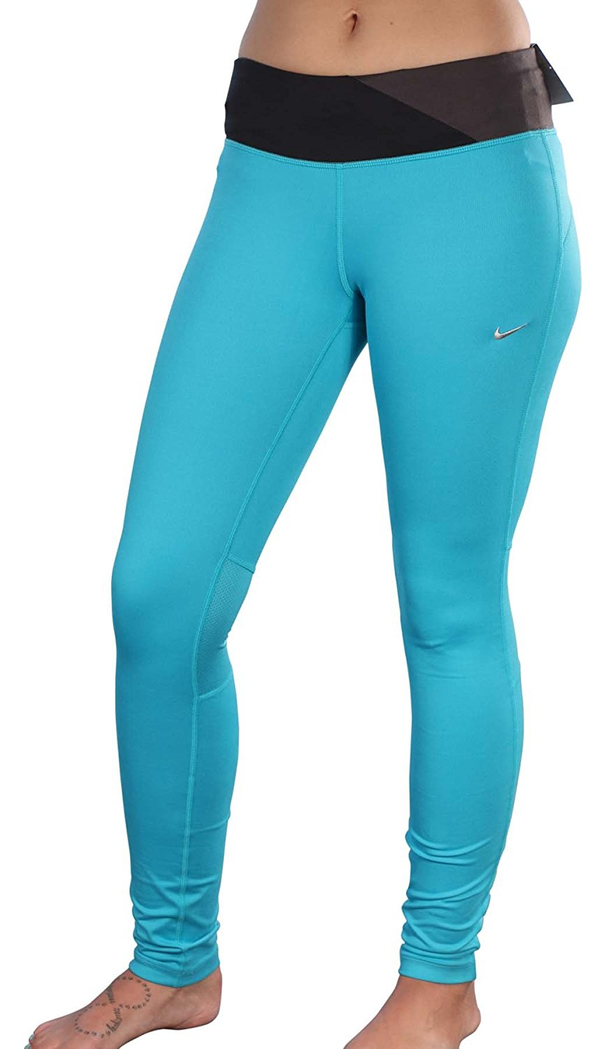 4dad0d55fdc0 Get Quotations · Nike Women s Dri-Fit Epic Running Tight Fit Pants-Jade