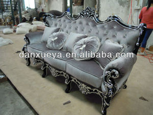 wood sofa 836#/Classic French Style Fabric Sofa 836#/jacquard bonded sofa/ car seat fabric