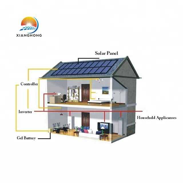 Grid easy to install 3 kw solar energy storage system for home use