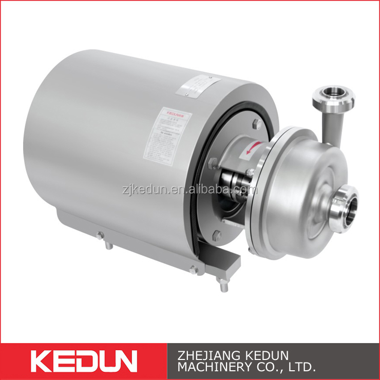 SS304 316 Sanitary Centrifugal food grade stainless steel beer Pump